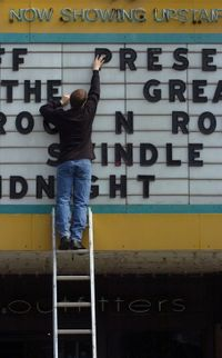 Movie-marquee