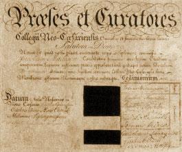James_Madison_Diploma