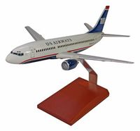Usairways-toy-plane-model