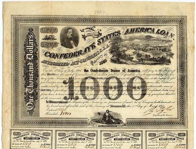 Confederate_States_Bond_Richmond_Shockhoe_Hill