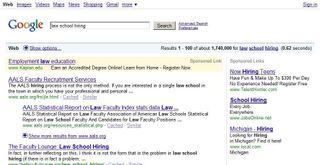 Law school hiring - Google