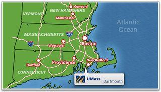 U_mass_dartmouth_map