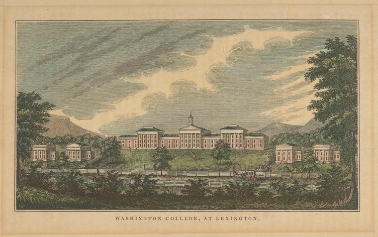 Washington_College_Lexington_Virginia_1845