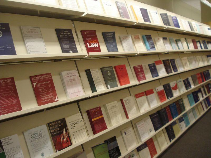 Journal Display Shelves