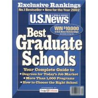Us news best graduate schools 2002