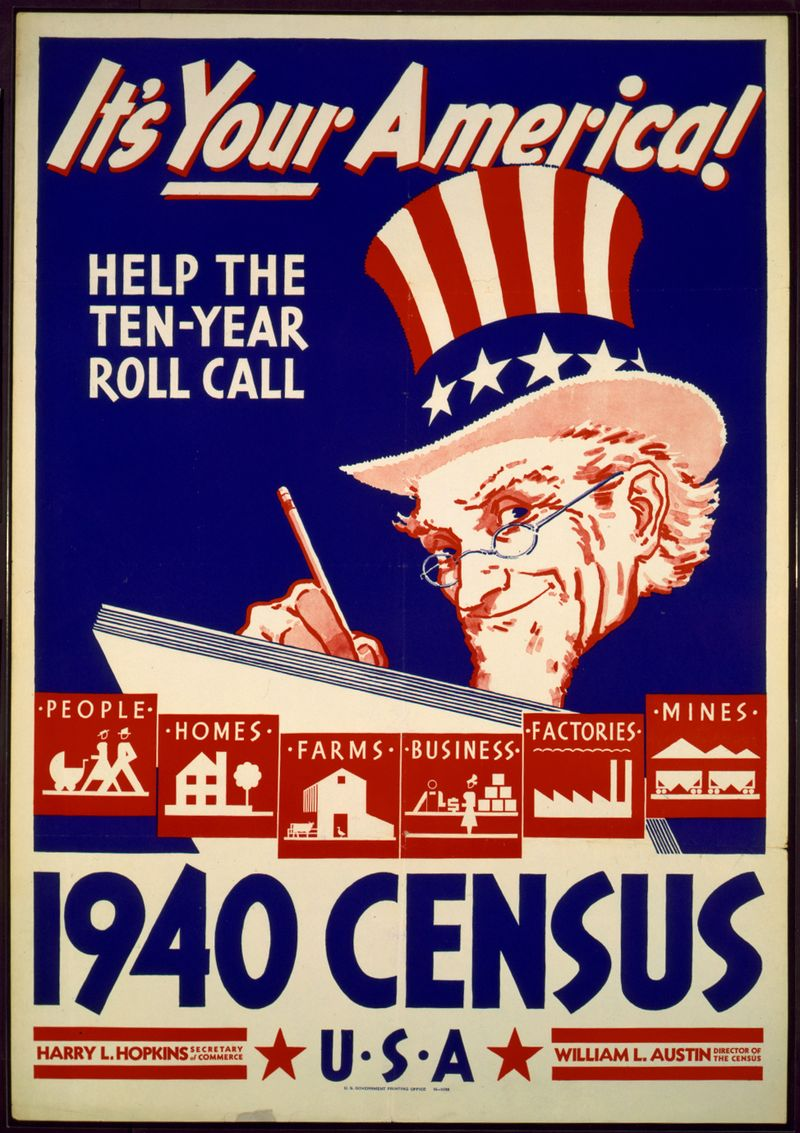 1940_US_Census_Poster