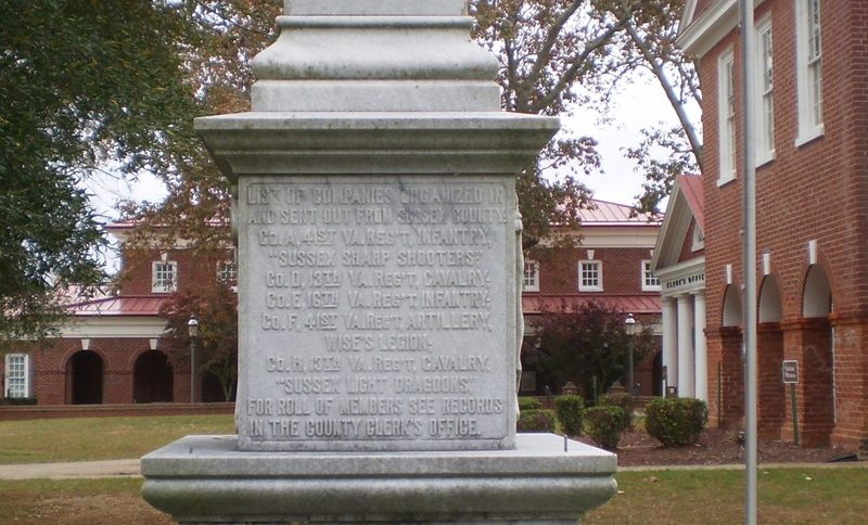 Sussex_Confederate_Monument