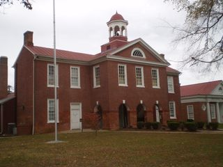 Sussex County, Virginia Courthouse