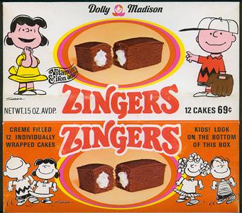 Hostess Chocolate Zingers