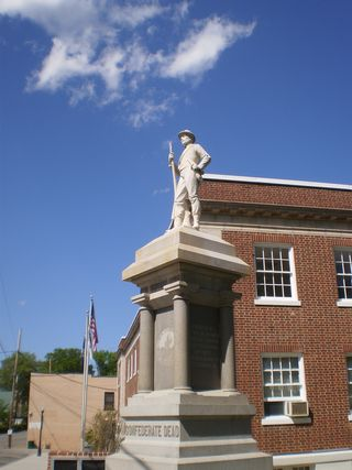 Confederate Monument, Pittsylvania, Chatham County Virginia