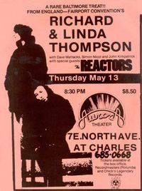 Thompson live in Baltimore 1982