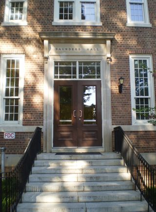 Saunders Hall Side Door