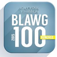 Blawg100HonoreeBadge 2015