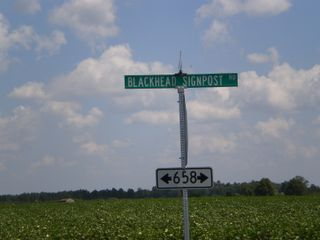 Blackhead Signpost Road, Southampton Virginia