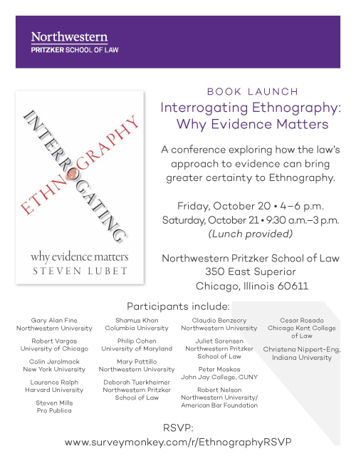 Book Launch - Ethnography - Image