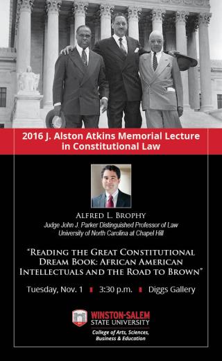 J Alston Atkins Lecture 2016