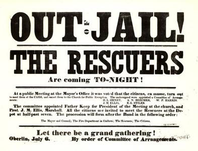 Oberlin Rescue poster