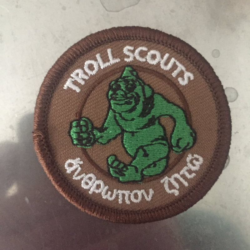 Troll Scout Patch